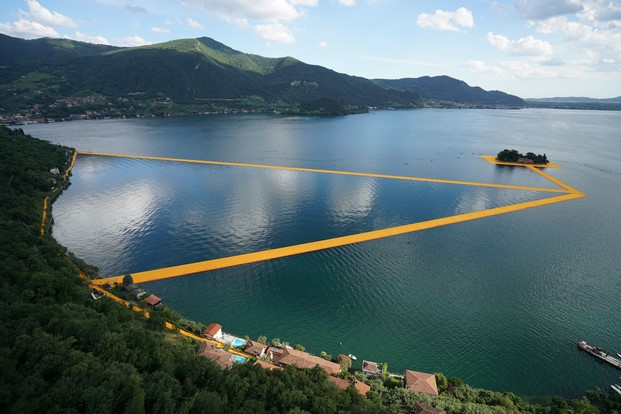 5 The Floating Piers, Lake Iseo, Italy