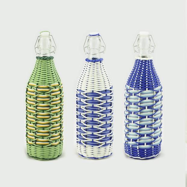 7 Botella decorada de Casa Atlántica