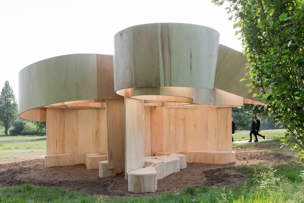 8 serpentine summer houses