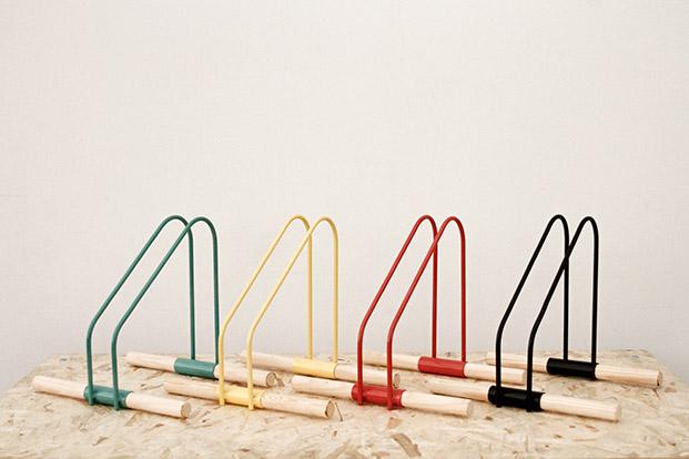WAO Bike Stand by Sandra Garcia & Sergio Mendoza - Prototype 01