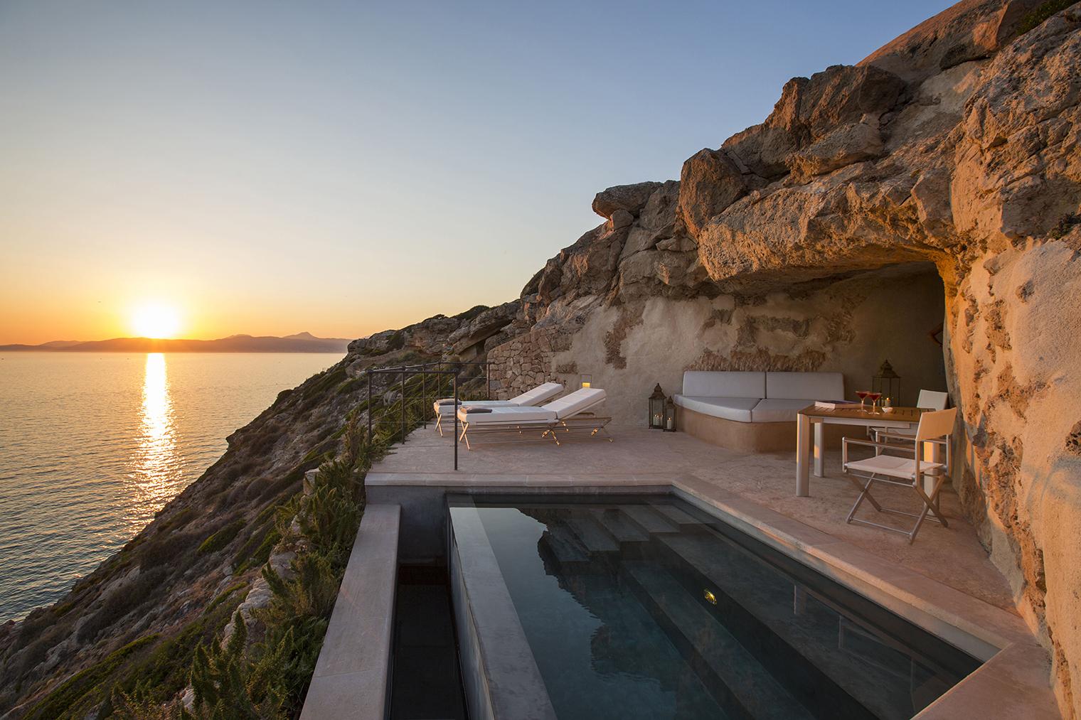 Hotel cap rocat en mallorca una fortaleza nica - Arquitectos en mallorca ...