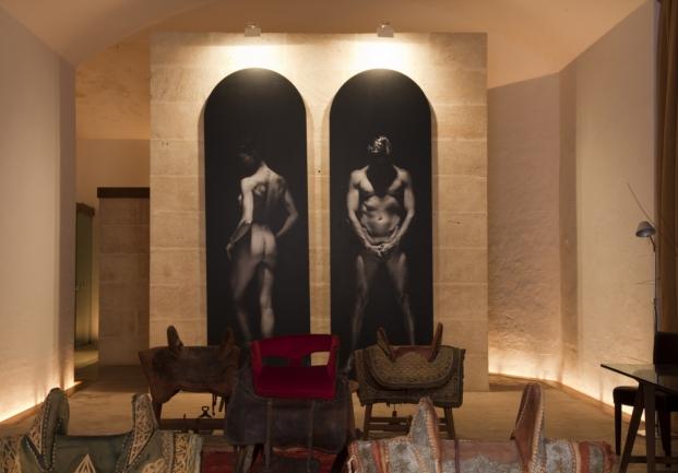 salones en hotel Cap Rocat Mallorca diariodesign