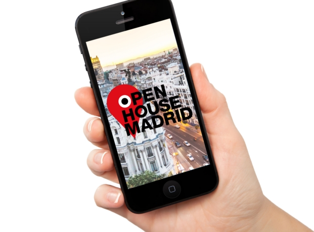 aplicacion para el festival Open House 2016 en Madrid