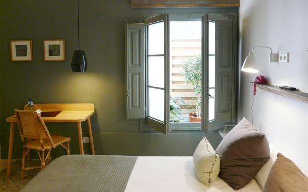 habitacion hotel casa mathilda de espacio en blanco en diariodesign Bárbara Aurell