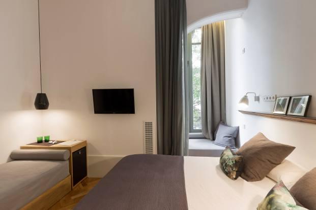 habitacion familiar hotel casa mathilda de espacio en blanco en diariodesign