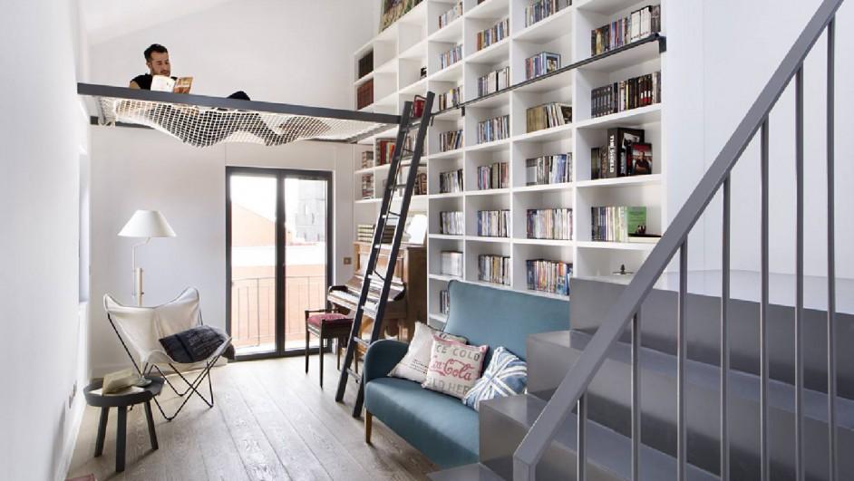 casa biblioteca libros interioristas Egue y Seta