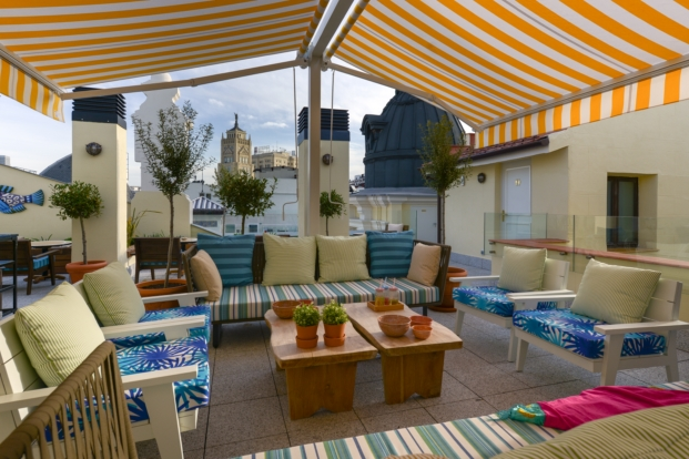 the mint roof vincci terraza en madrid jaime beriestain