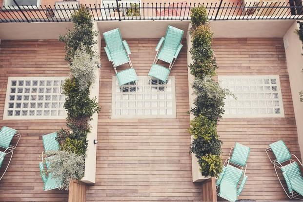 terraza hotel casa bonay en barcelon diariodesign
