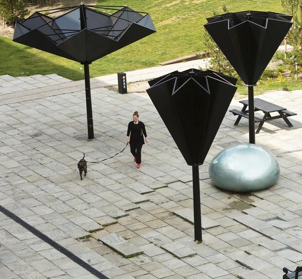 21 public space