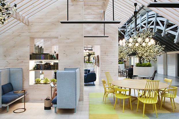 hotel Ovolo en un muelle de Woolloomooloo en sidney diariodesign