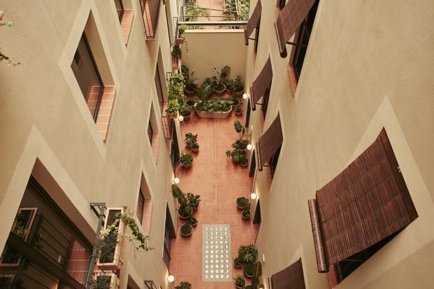 patio hotel boutique casa bonay barcelona diariodesign
