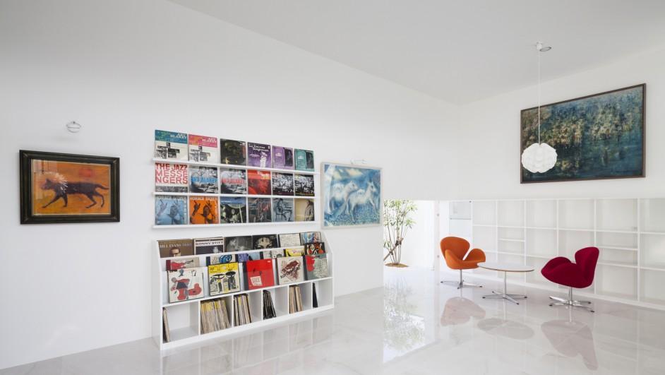 La casa diseñada como un pequeño museo