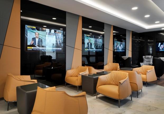 Salas VIPS de Alitaia por Studio Marco Piva 13