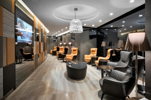 Salas VIPS de Alitaia por Studio Marco Piva 2
