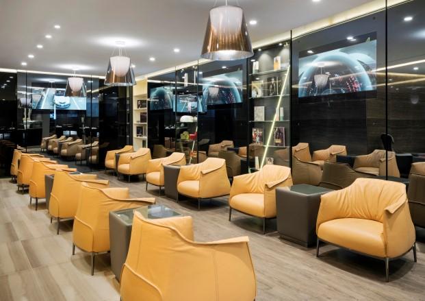 Salas VIPS de Alitaia por Studio Marco Piva 3