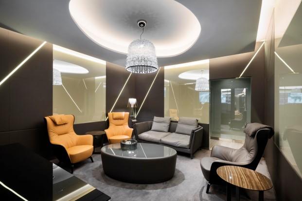 Salas VIPS de Alitaia por Studio Marco Piva 4