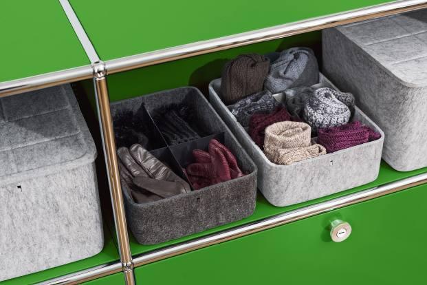 usm cajas accesorios de fieltro para mobiliario diariodesign