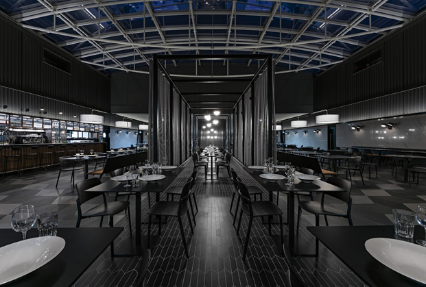 The Bridge Diner SHH Architects and Interior Designers restaurantes top