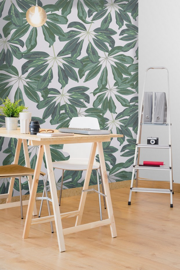 3 tropical murals wallpaper