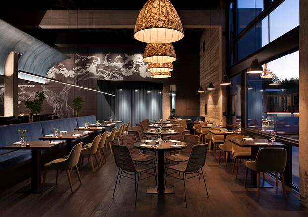 restaurantes top Juniper by Cravotta Interiors diariodesign