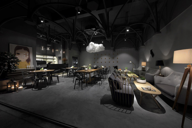 restaurantes top Mysterious Game Feel Design en china diariodesign
