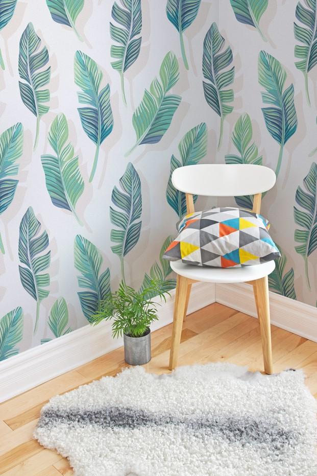 8 tropical murals wallpaper