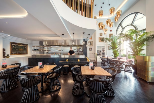 restaurante Bronte de Tom Dixon