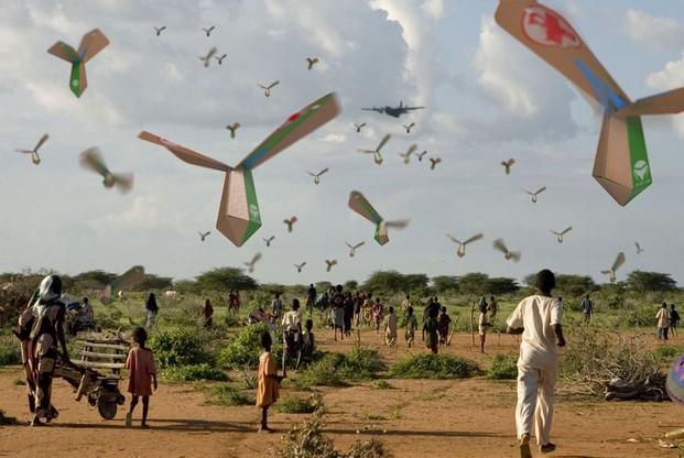 Israel Aid Drop Image 3