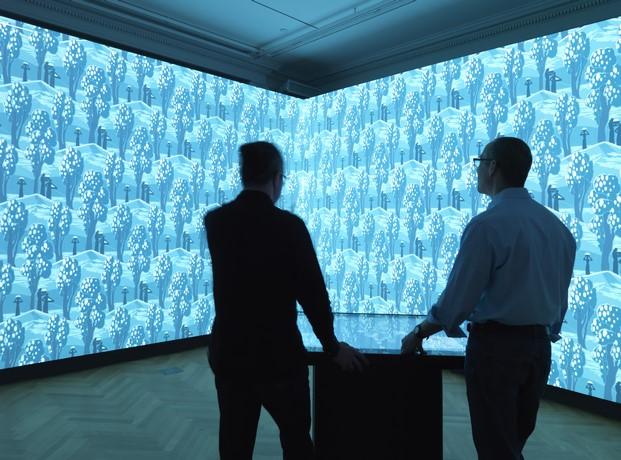 USA_Installation view of Immersion Room_photo Matt Flynn©2014CooperHewitt,Smithsonian Design Museum