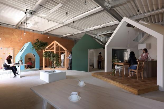 7 casitas oficina flexible