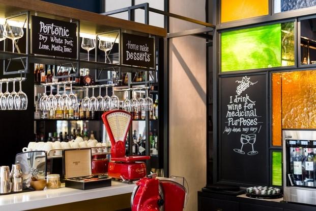 Detalle bar hotel moments budapest