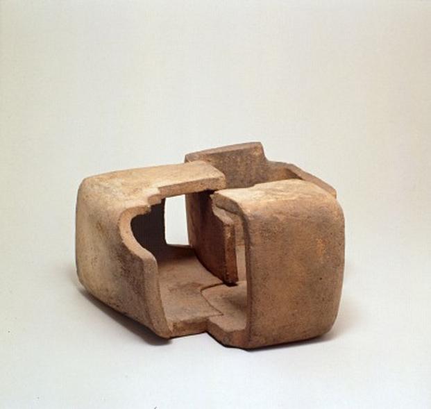 Pieza de Chillida. Galery Lelong de Zurich
