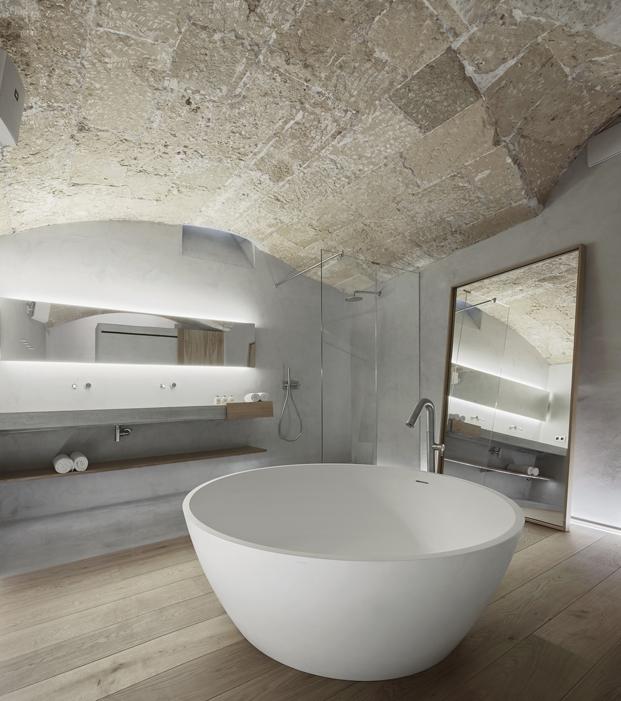 bañera del hotel puro en mallorca
