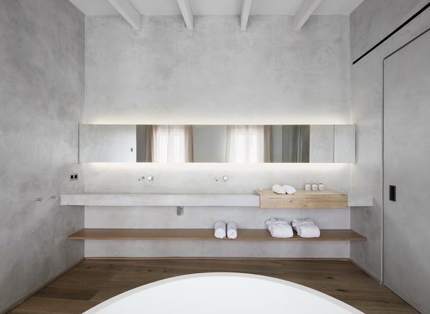 baño del hotel puro en mallorca