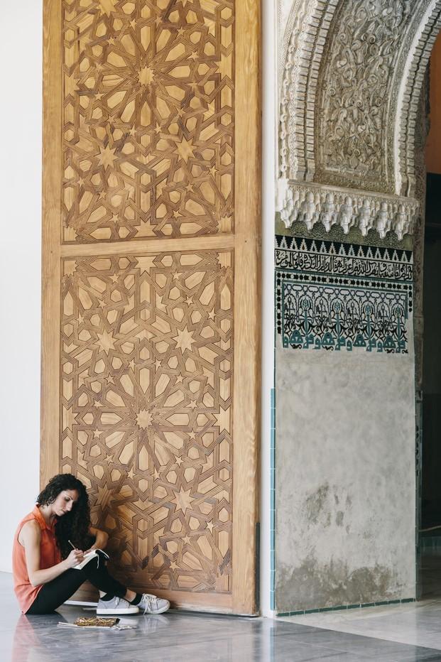Cervezas Alhambra arquicostura de raquel rodrigo diariodesign