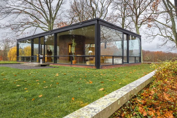 glass house de philip johnson arquitectura y cristal diariodesign
