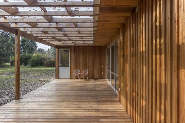 casa de madera estudio borrachia Buenos Aires