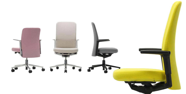 vitra en orgatec sillas AM Chair de Alberto Meda trabajo diariodesign sillas pacific