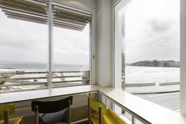 mirador restaurante Dorsia un mirador sobre el Atlántico en Sanxenxo diariodesign