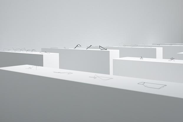 un printed material exposicion nendo en Creation Gallery G8 diariodesign