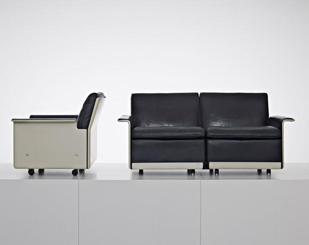 sillón de la serie 620 de dieter rams