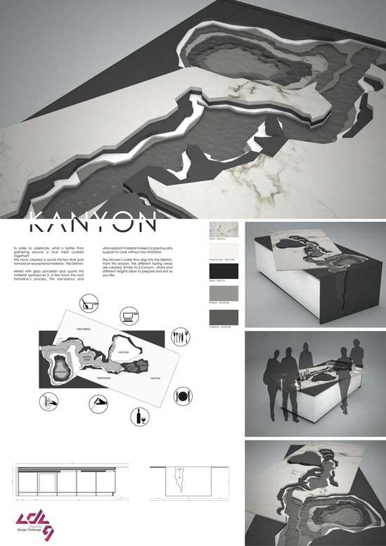 Cosentino Design Challenge en diariodesign