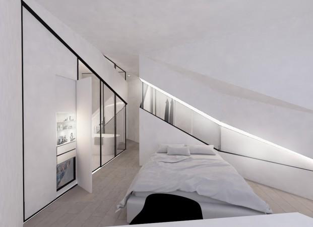 habitacion hotel amister proyecto de Mauricio David García Vargas de ied barcelona