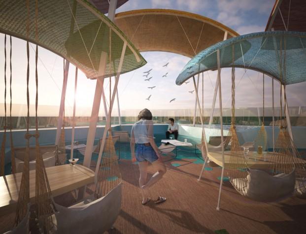 proyecto chiringuito hotel amister de estudiantes de la escuela ied barcelona