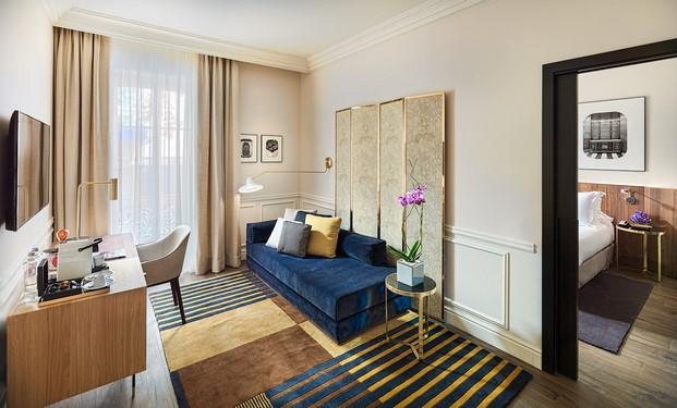 suite H10 Casa Mimosa en barcelona sandra tarruella diariodesign