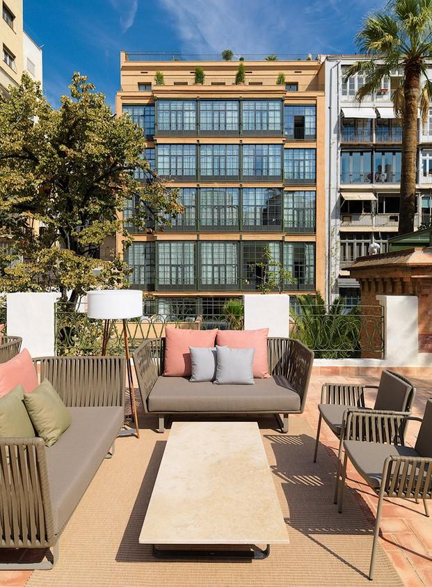 Casa Mimosa H10 en barcelona terraza sandra tarruella diariodesign