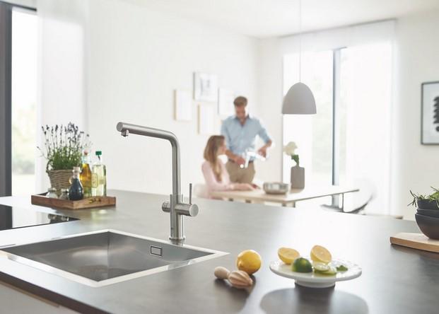 grohe blue home filtra el agua desde el grifo. Black Bedroom Furniture Sets. Home Design Ideas