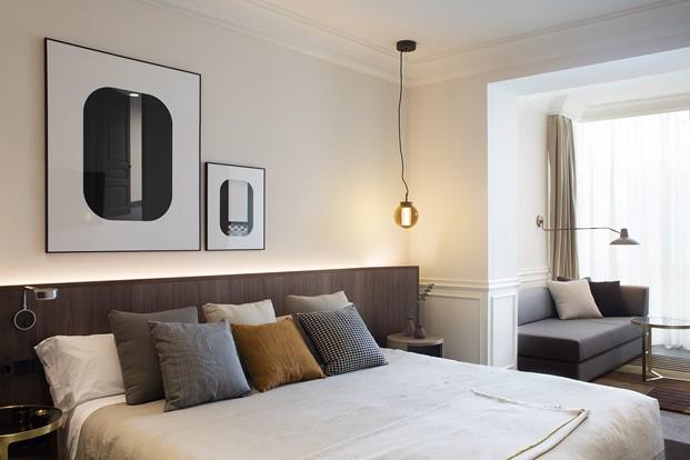 cama H10 Casa Mimosa en barcelona sandra tarruella diariodesign