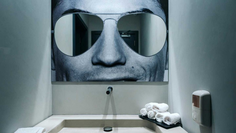 hotel cr7 pestana cristiano ronaldo en madeira espejos de bano diariodesign