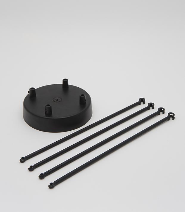 plumen-chandelier-kit-four-cables-black